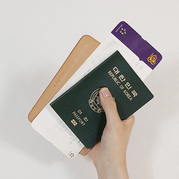 natural passport case