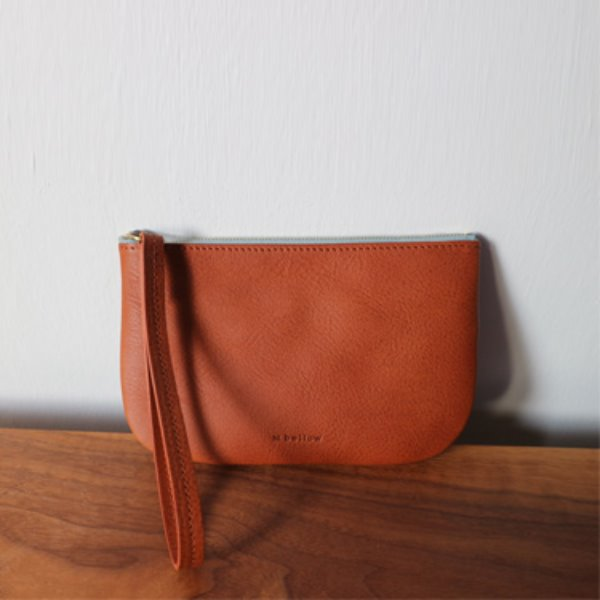 noy pouch - brown